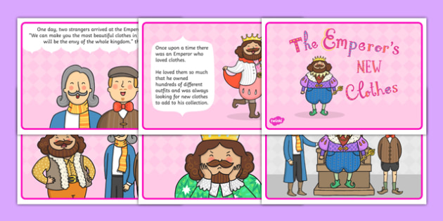 The Emperors New Clothes Story - stories, story books, books