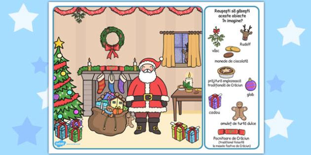 Sărbătoarea Crăciunului - Găsește imaginea