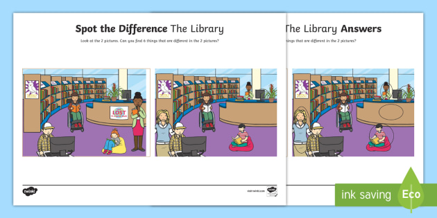 graphic regarding Work Sheet Library called The Library Desired destination the Variation Worksheet / Worksheet