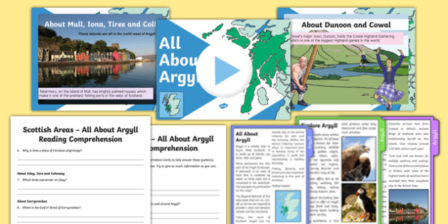 All About Argyll Activity Pack-Scottish