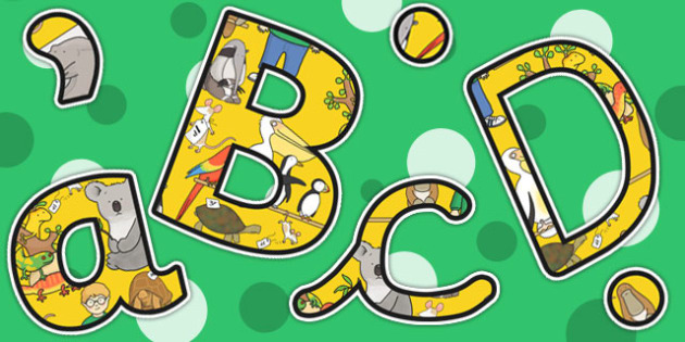 Themed Size Editable Display Lettering to Support Teaching on The Great Pet Sale