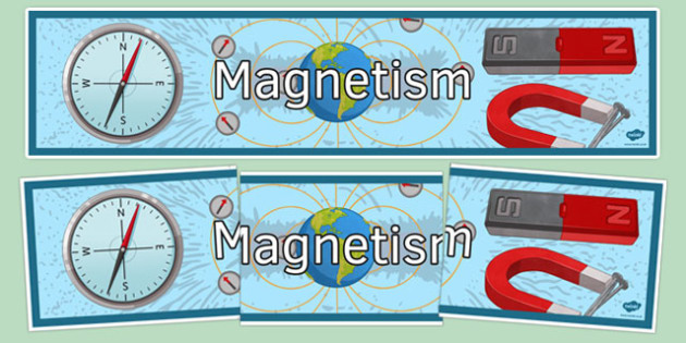 Magnetism Display Banner - magnetism, display banner, display, banner, science