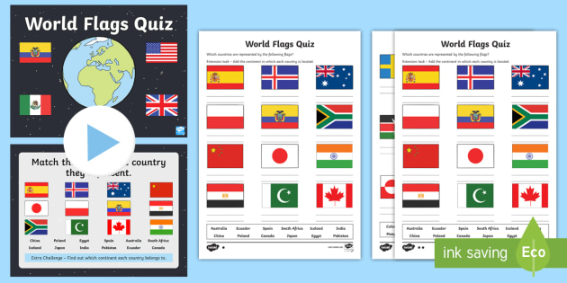 world flags quiz pack geography flags world earth