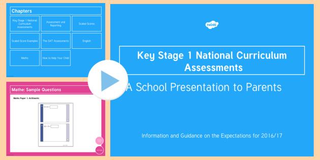 KS1 National Curriculum Assessments Information for Parents - ks1, sats, 2017, information, parents, info