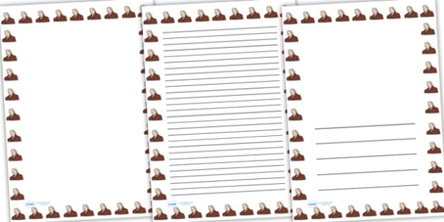 Edward Jenner Page Borders - edward jenner, page borders, writing frames, lined pages, writing guide, writing template, themed writing frame, writing aids