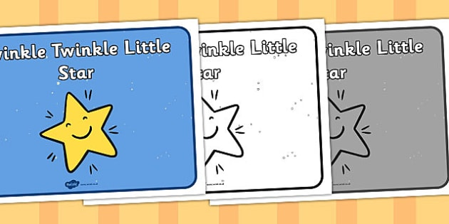 Twinkle Twinkle Little Star Sequencing (A4) - Twinkle, Twinkle, Little Star, seuqnecing, nursery rhyme, rhyme, rhyming, nursery rhyme story, nursery rhymes, space, Twinkle Twinkle Little Star resources