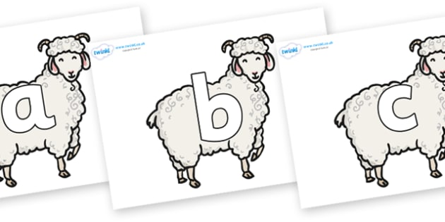 Phoneme Set on Small Billy Goats - Phoneme set, phonemes, phoneme, Letters and Sounds, DfES, display, Phase 1, Phase 2, Phase 3, Phase 5, Foundation, Literacy