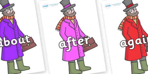 KS1 Keywords on Doctor Foster - KS1, CLL, Communication language and literacy, Display, Key words, high frequency words, foundation stage literacy, DfES Letters and Sounds, Letters and Sounds, spelling