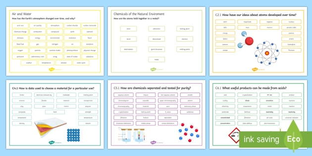 OCR 21st Century Separate Science Chemistry Word Mats  - Word Mat, gcse, ocr, exam preparation, chemistry, separate sciences