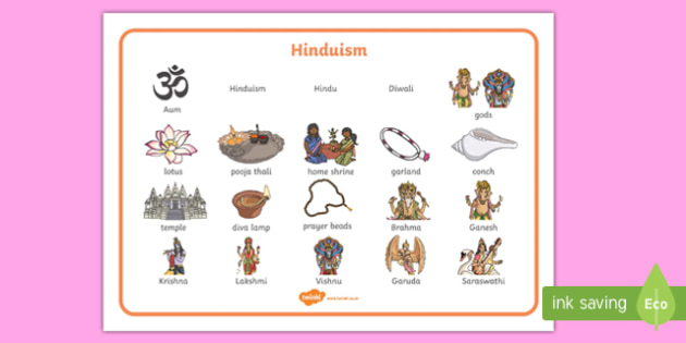 Hinduism Word Mat - hinduism, word mat, words, religion, hindu, religious education