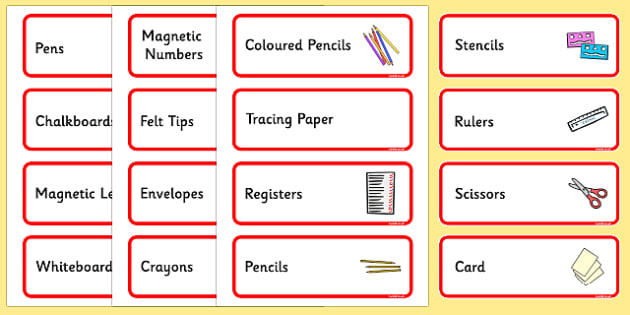 Size Editable Writing Area Resource Labels (Red) - Writing resource labels, literacy area labels, writing area resources, Label template, Resource Label, Name Labels, Editable Labels, Drawer Labels, KS1 Labels, Foundation Labels, Foundation Stage Lab