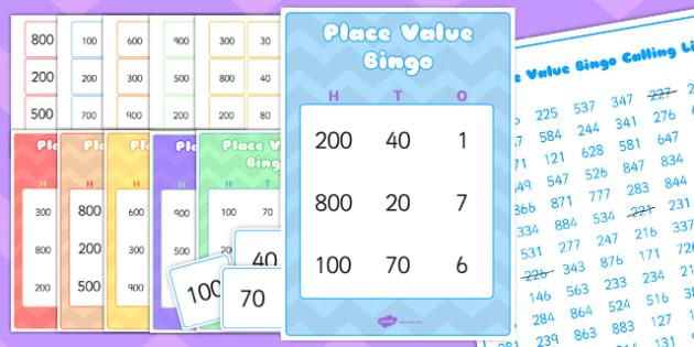 Place value bingo value ten units maths games numeracy place value bingo value ten units maths games numeracy solutioingenieria Gallery