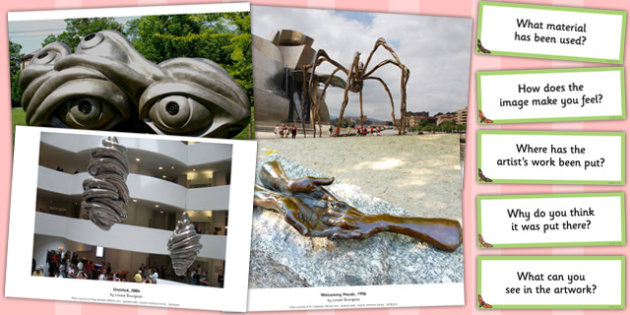Louise Bourgeois Photopack and Prompt Questions - prompts, photos