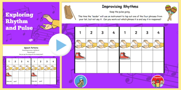 Picture A Christmas Flipchart.Rhythm And Pulse Lesson Teaching Flipchart Rhythm Pulse