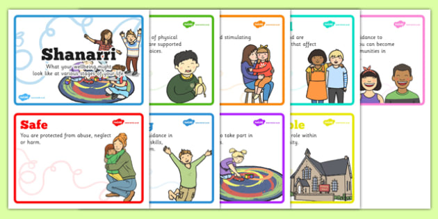Shanarri Display Cards - shanarri, display cards, display, cards, well being