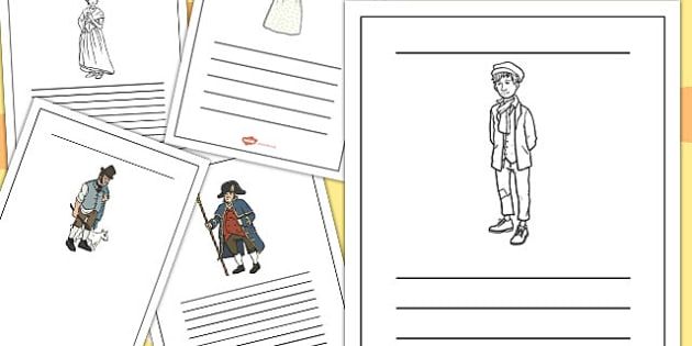 oliver twist coloring pages - photo#25