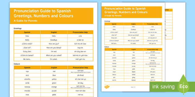 Summer fun pronunciation guide to spanish greetings numbers and summer fun pronunciation guide to spanish greetings numbers and colours parent and carer information sheet m4hsunfo