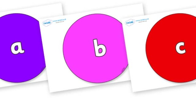 Phase 2 Phonemes on Circles - Phonemes, phoneme, Phase 2, Phase two, Foundation, Literacy, Letters and Sounds, DfES, display