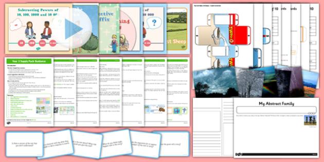 KS2 Year 5 Supply Pack - ks2, year 5, supply, pack, supply pack, supply teacher, teacher