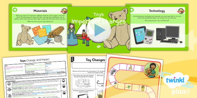 History: Toys: Important Changes KS1 Lesson Pack 5