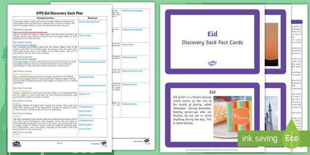 Eid Discovery Sack - discovery sack, eid, eid-al-fitr, ramadan