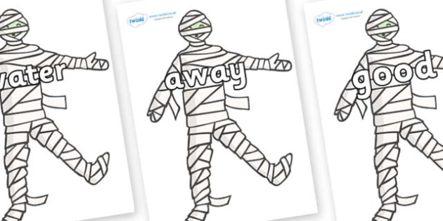 Next 200 Common Words on Mummy (Plain) - Next 200 Common Words on  - DfES Letters and Sounds, Letters and Sounds, Letters and sounds words, Common words, 200 common words