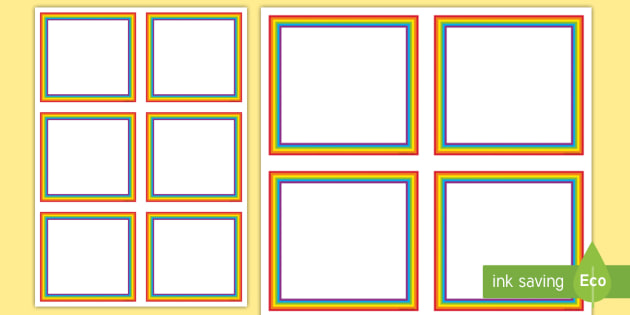 editable rainbow labels signs labels editable labels