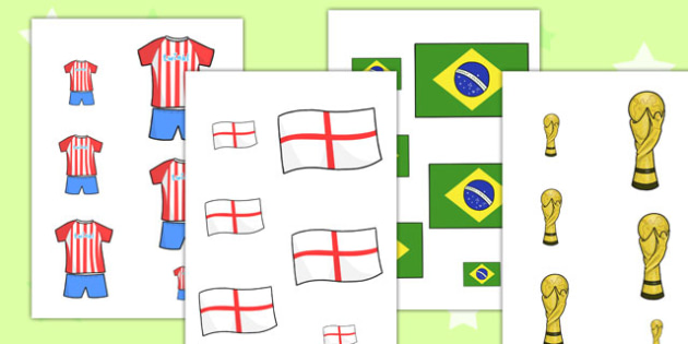 Football World Cup Size Ordering - football, world cup, order
