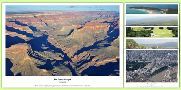 Aerial Photograph Pack - aerial photograph, aerial, photograph, display, pack