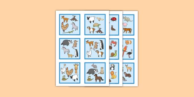 Advanced Snap Card Game Animals - advanced, snap card, game, animals, snap, card