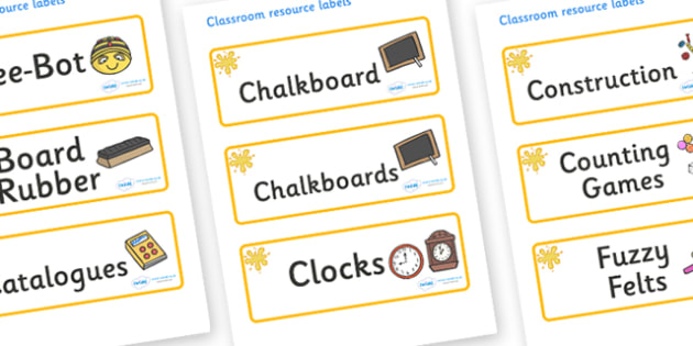Orange Themed Editable Additional Classroom Resource Labels - Themed Label template, Resource Label, Name Labels, Editable Labels, Drawer Labels, KS1 Labels, Foundation Labels, Foundation Stage Labels, Teaching Labels, Resource Labels, Tray Labels, P