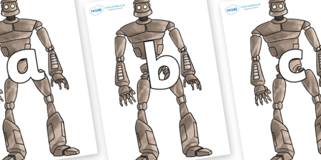 Phoneme Set on The Iron Man - Phoneme set, phonemes, phoneme, Letters and Sounds, DfES, display, Phase 1, Phase 2, Phase 3, Phase 5, Foundation, Literacy
