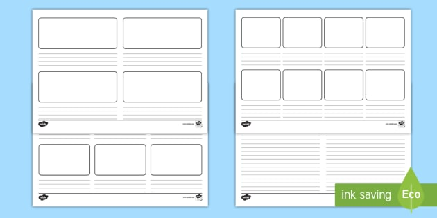 Editable Story Flashback Templates