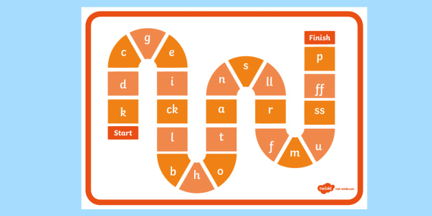Phase 2 Sounds Game Board - phase 2, phase 2 sounds game, phase 2 sounds, game board, phase 2 game board, sounds game board