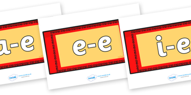 Split Digraphs on Chinese Money Wallets - Modifying E, letters, modify, Phase 5, Phase five, alternative spellings for phonemes, DfES letters and Sounds