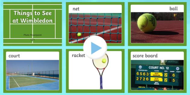 Wimbledon Photo PowerPoint - wimbledon photos, wimbledon tournament photos, wimbledon 2013, wimbledon powerpoint, wimbledon resources