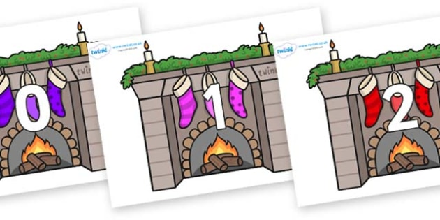 Numbers 0-100 on Fireplaces - 0-100, foundation stage numeracy, Number recognition, Number flashcards, counting, number frieze, Display numbers, number posters