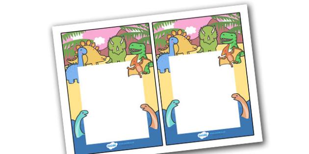 Editable Note From Teacher (Dinosaur Themed) - editable note from teacher, dinosaur themed, note from teacher, notes, note, comment, parent, teacher's, editable, dinosaurs