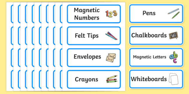 Size Editable Writing Area Resource Labels (Blue) - Writing resource labels, literacy area labels, writing area resources, Label template, Resource Label, Name Labels, Editable Labels, Drawer Labels, KS1 Labels, Foundation Labels, Foundation Stage La
