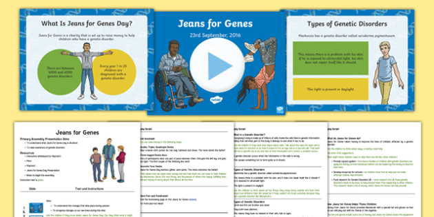 Jeans For Genes Assembly Pack