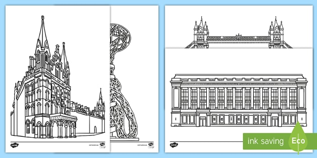 London Colouring Pages - london, colouring, pages, colour