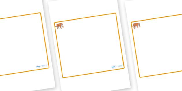 Tiger Themed Editable Classroom Area Display Sign - Themed Classroom Area Signs, KS1, Banner, Foundation Stage Area Signs, Classroom labels, Area labels, Area Signs, Classroom Areas, Poster, Display, Areas