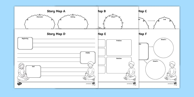 Story map worksheet activity sheets pack story map stories story map worksheet activity sheets pack story map stories worksheets map ccuart Choice Image