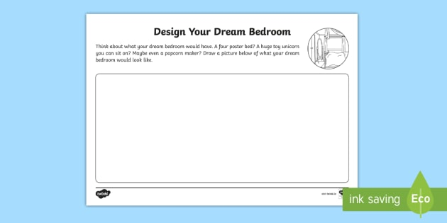 Exceptionnel The Home Aistear Design Your Dream Bedroom Activity Sheet   ROI, House,  Rooms In