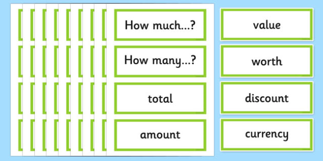 Year 5 Problem Solving Vocabulary Cards - australia, year 5, problem solving, vocabulary, cards