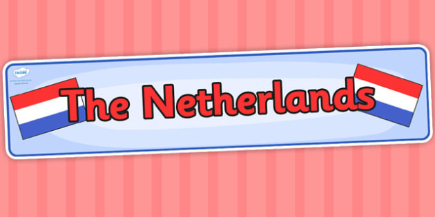 The Netherlands Display Banner - countries, geography, header