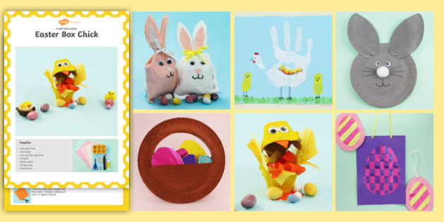 Eyfs Ks1 Easter Craft Activity Pack