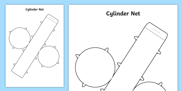 picture relating to 3d Nets Printable titled Cost-free! - 3D Website for Cylinder - cylinder, internet, 3D, form, slash