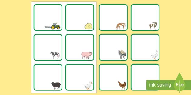 Etiquetas de perchero: en la granja  - En la granja, transcurricular, proyecto, animales, vaca, cerdo, oveja, pato, caballo, cabra, burro,