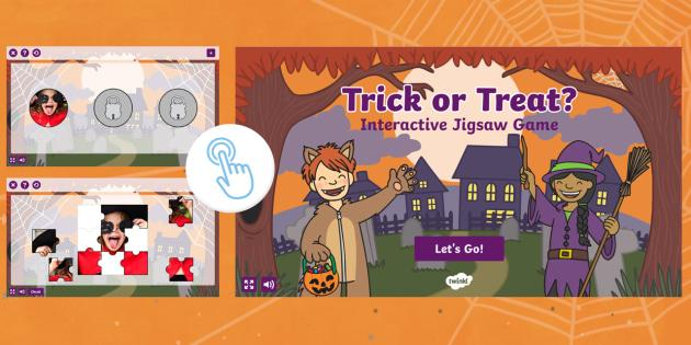 Trick or Treat Halloween Bingo
